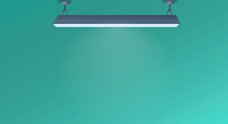 pantalla fluorescente
