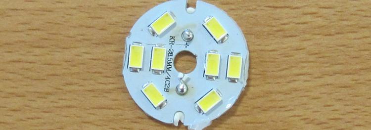 Detalle de un chip de superficie