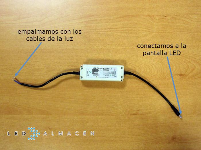 transformador pantalla led
