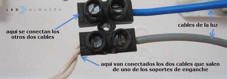 detalle conexion cables a clenm