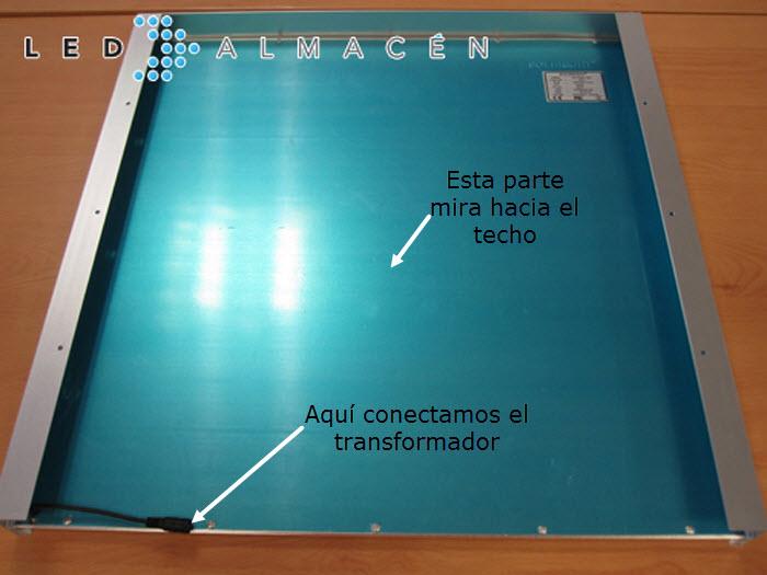 panel LEd ensamblado kit superficie