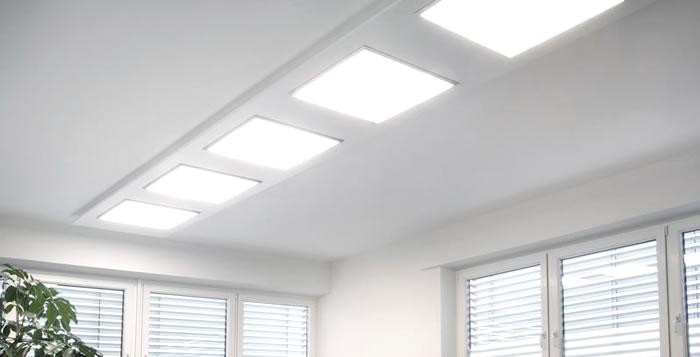 Como montar un kit de superficie para paneles led 60 x 60 for Paneles led de superficie